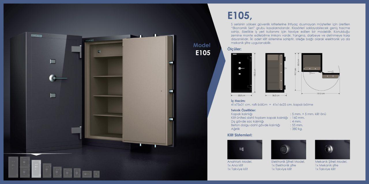 E105 Para Kasası