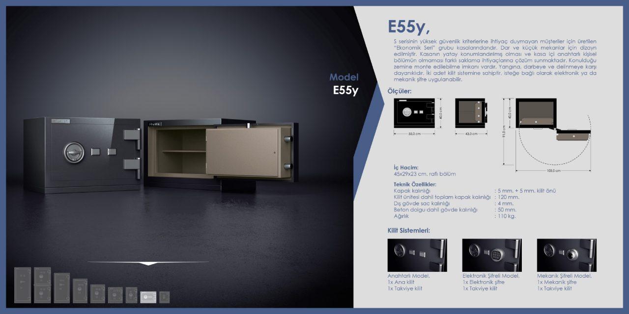 E55y Para Kasası