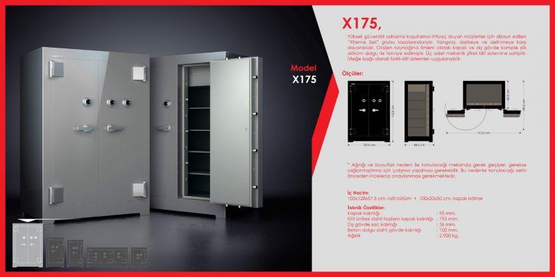 X175 Para Kasası