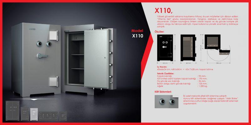 X110 Para Kasası