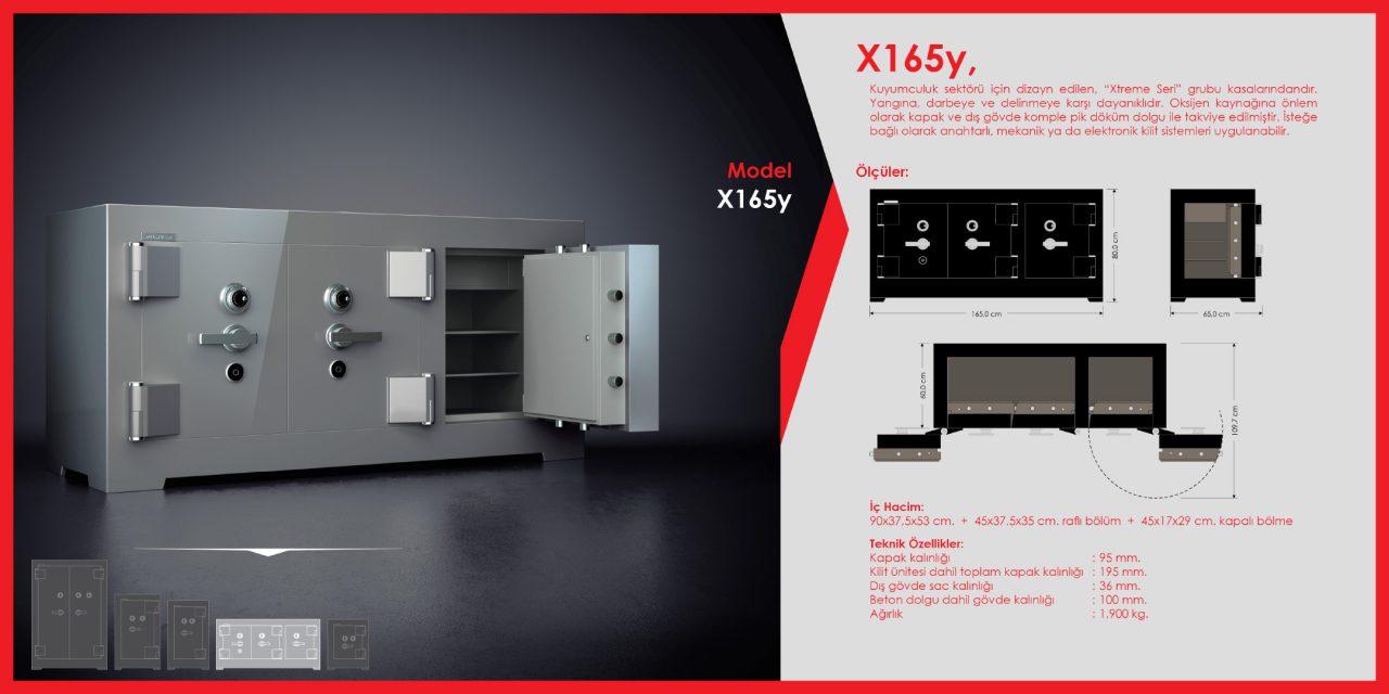 X165y Xtreme Çelik Para Kasası
