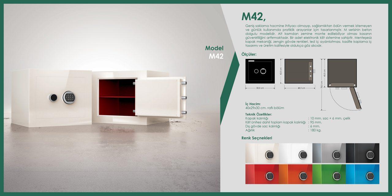 M42 Mini Çelik Para Kasası